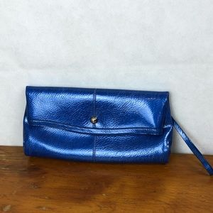 Kate Landry Blue Clutch / Wristlet